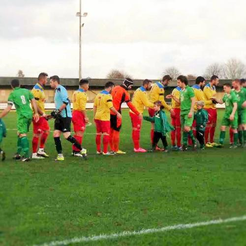 The FA Vase- 2 Round Gorleston - FC Romania 2015